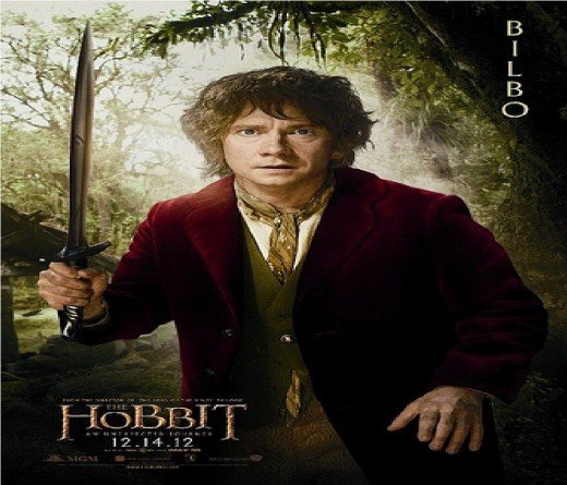 "Returning in ""The Hobbit"" is 'Bilbo Baggins' (except younger)"