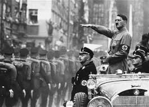 Adolf Hitler, 20 April 1889- 30 April 1945. Dictator of Germany in the second world war, which caused so many deaths and he also ordered the holocaust of the Jews.