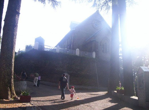 St. John's Church at Subhash Chowk Dalhousie