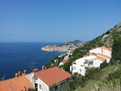 Overview of Dubrovnik.