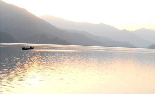 Phewa Lake, Early Morning View