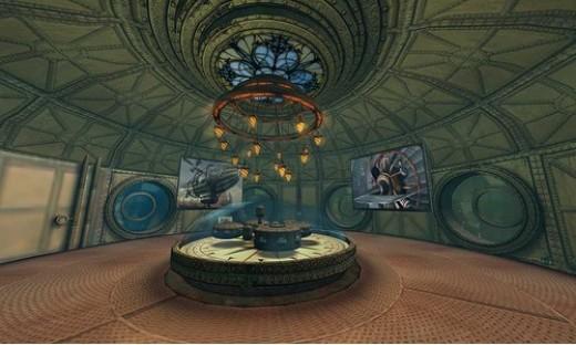 Steampunk Rotunda