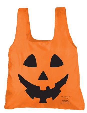 Chicobag easy-stuff-and-store Jack-O-Lantern Halloween bag