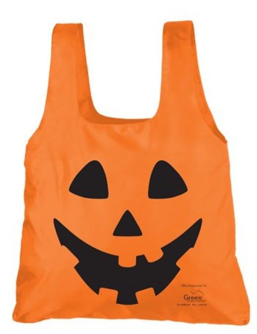 Chicobag easy-stuff-and-store Jack-O-Lantern Halloween bag