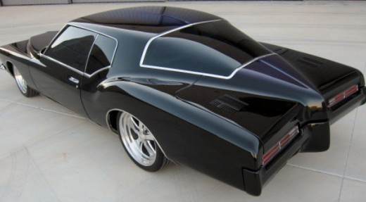 The same man that brought you this classic car is responsible for popularizing clawfoot bathtubs.  1971 Buick Boatail Riviera.