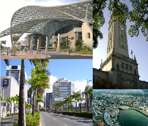 """Montages of Cities in Puerto Rico"" by RocketMan2013."