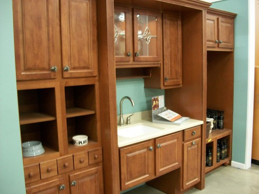 Install accessible kitchen cabinets