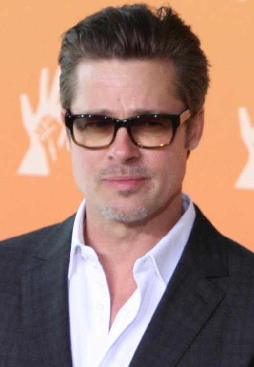 Brad Pitt in June 2014