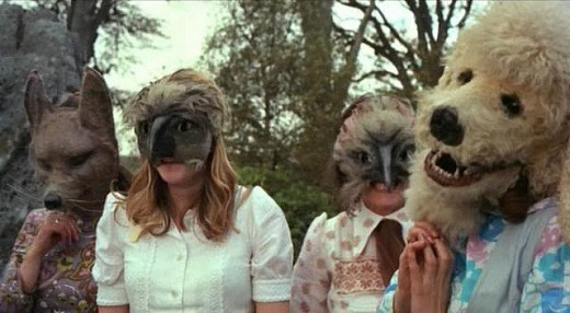 This Image from The Wicker Man only begins to give you an idea of how bizarre this film really is.