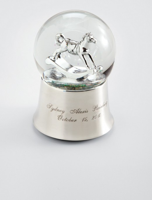 Baby Keepsake Snow Globe