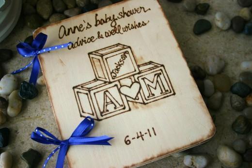 Baby Keepsake Baby Shower Book
