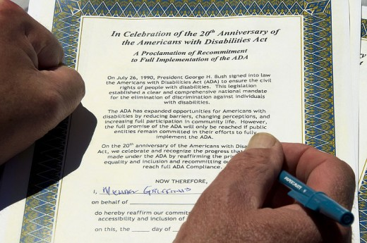 Learn about the Americans with Disabilities Act