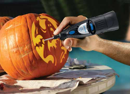 Take Your Pumpkin Carving to the Next Level with the Dremel Pumpkin Carving Tool