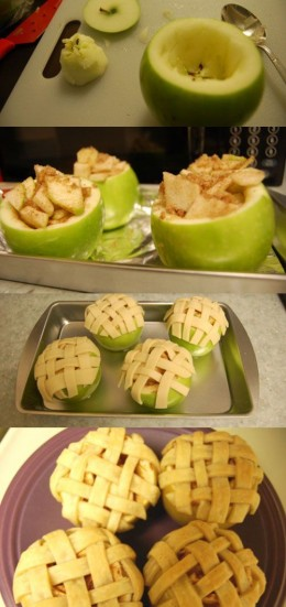 These apple pie apples are easy to make and are oh so delicious.
