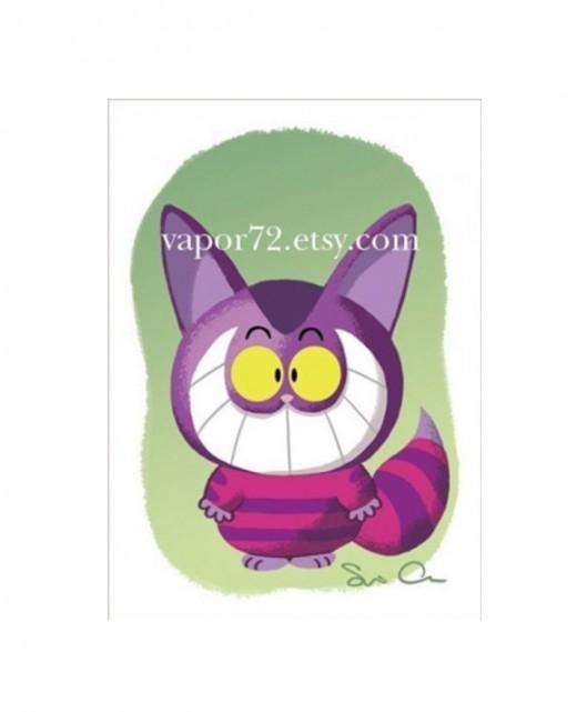 """""""Cheshire Cat"""" by Serapio Calm"""