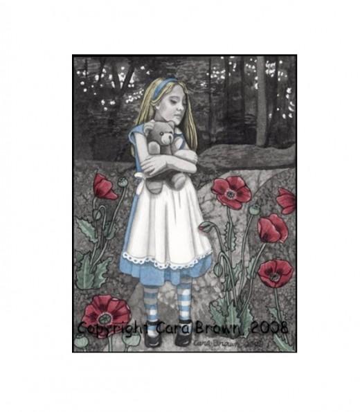 """""""Alice in Wonderland"""" by Cara Brown"""