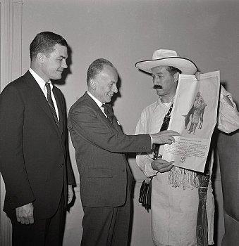 "Actor, Carlos Sanchez, ""Juan Valdez,"" started advertising coffee on April 12, 1960"