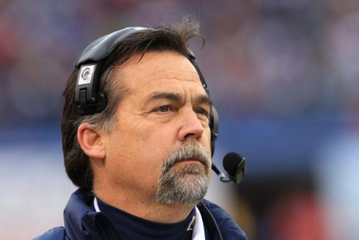 St. Louis Rams coach Jeff Fisher