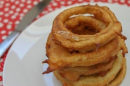 Fried Apple Rings are oh so delicious. Kids really love these.