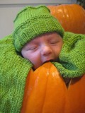 Taking Great Baby Pumpkin Pictures