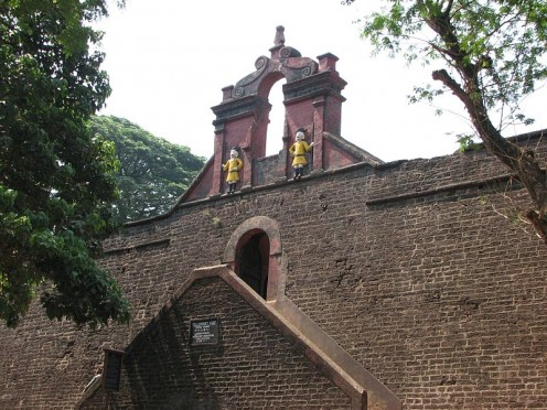 Entrance of the Thalassery Fort