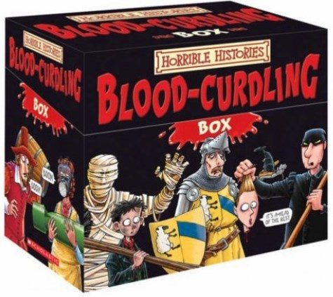 Horrible Histories In A Blood Curdling Box