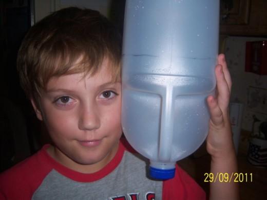 Just starting on jug mask