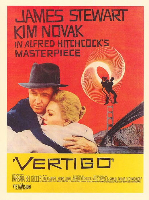 The Movie Poster for Vertigo