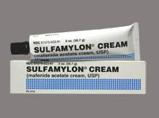 Sulfamylon Cream-prevents bacterial infection due to burns