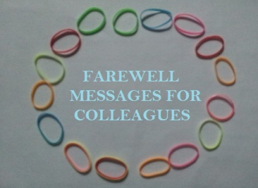 Farewell Messages for Colleagues, Friends, Coworkers or Boss Leaving
