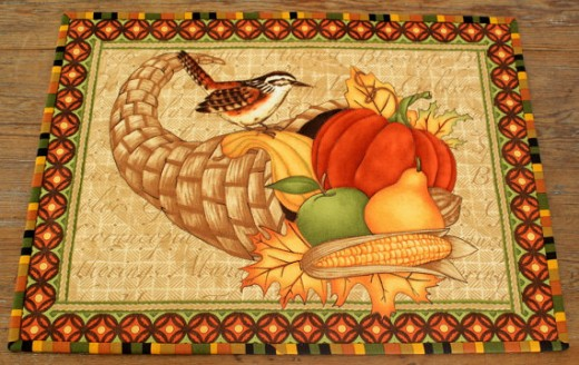 Harvest Time Placemats