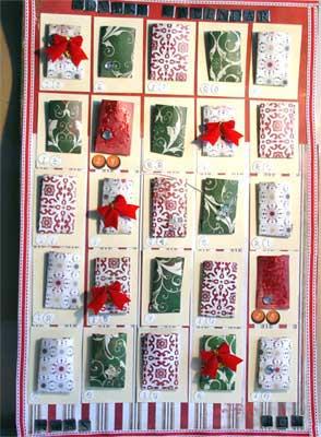 Hand Made Advent Calendar