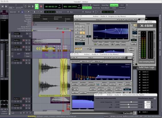 Ardour, a free software vocoder for Mac OS X and Linux.