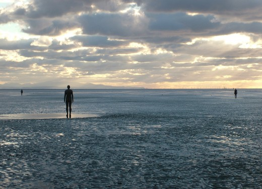 Another Place (Crosby Beach) by Antony Gormley