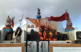 Shikari Devi temple at 1404 meters at Karsog in Mandi