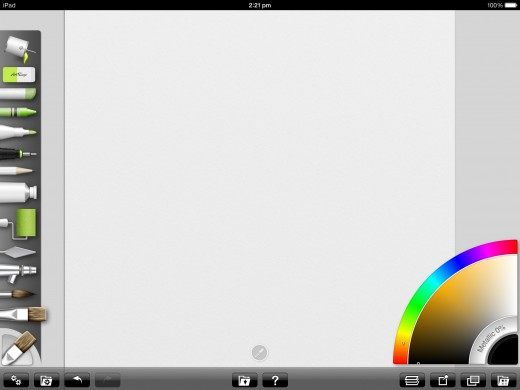 ArtRage for iPad created by Ambient Design