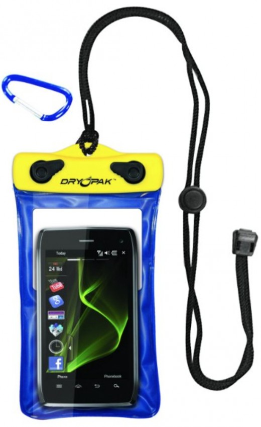 Click the link to the left to see this Dry Pak Cell Phone, GPS waterproof case.