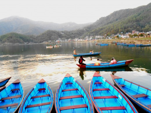 BOATING in Phewa lake