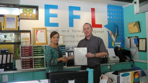 TESOL and EFL certification