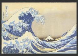 - The Great Wave - Hokusai