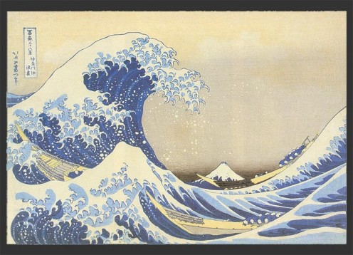 - The Great Wave - Hokusai