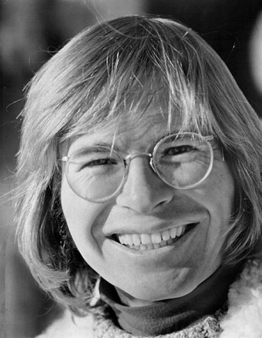 9 August 1973. Photo of John Denver from a television special where he served as the program's narrator.