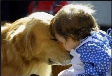 Pets & children can be so soft and tender!