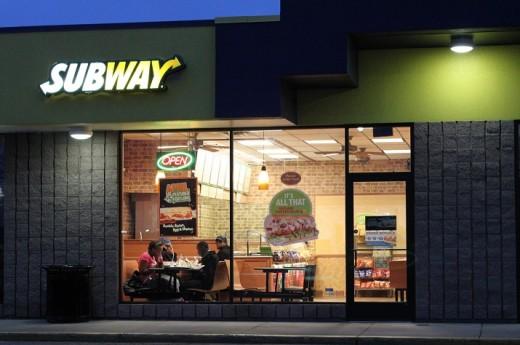 Subway Restaurant in Pittsfield Township Michigan
