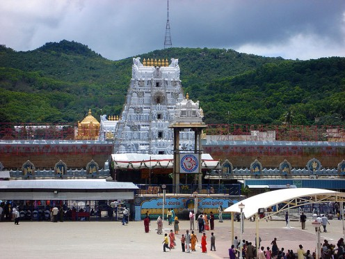 Tirumala Tirupati Venkateshwara Temple (Also known as Tirupati Balaji Temple)