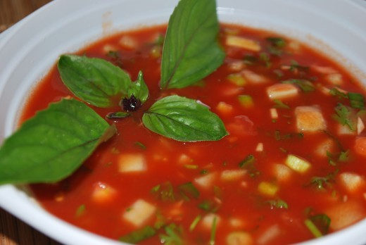 Gaspacho is a popular dish in Spain - could you follow a recipe in Spanish?