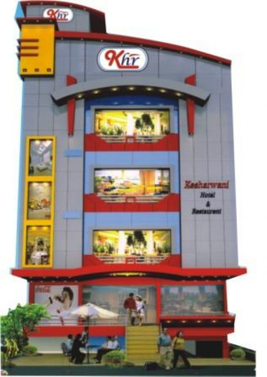 A budget hotel in Jabalpur