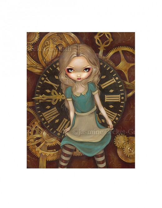 """Alice in Clockwork"" by Jasmine Becket-Griffith"