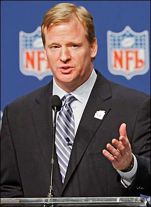 Is Roger Goodell in hot water?