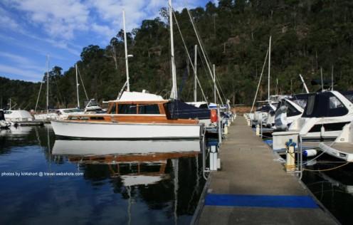 Akuna Bay - Boat Yard